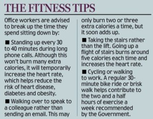 Office Place Fitness Tips